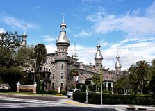 Southeast View of the Tampa Hotel. This is a Winter picture of the southeast View of the historic Tampa Hospital located in Tampa, Florida in Hillsborough County royalty free stock photos