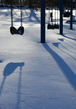 Winter Playground Royalty Free Stock Photography