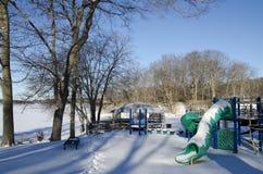 Winter Playground Stock Photo