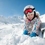 Winter playing Stock Photo