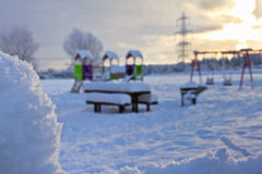 Winter playtime Royalty Free Stock Photography