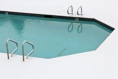 Winter pool Stock Photo