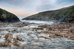 Winter at Port Quin Royalty Free Stock Photo