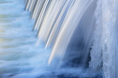 Winter, Portage Creek Cascade Royalty Free Stock Image