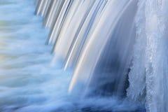 Winter, Portage-Nebenfluss-Kaskade Lizenzfreies Stockbild