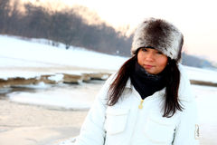 Winter portrait Stock Photography