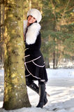 A winter portrait Royalty Free Stock Photo