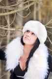 A winter portrait Stock Image