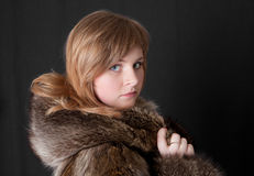 Winter portrait Royalty Free Stock Photos