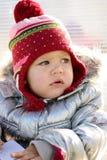 Winter portrait Royalty Free Stock Photos