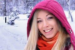 Winter portrait Royalty Free Stock Photo