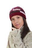 Winter portrait of a woman Stock Photo
