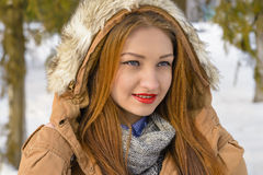 Winter Portret Royalty Free Stock Image