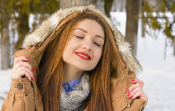 Winter Portret Royalty Free Stock Photo