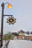 Winter Porvoo sightseeing Stock Photography