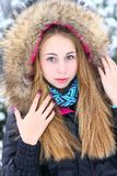 Winter potrait Royalty Free Stock Photo