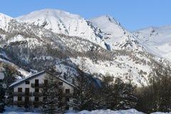 Winter in Pragelato Royalty Free Stock Photography