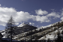 Winter in Pragelato Royalty Free Stock Image