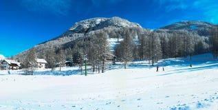 Winter in Pragelato Stock Photo