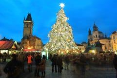 Winter Prague Stock Images