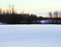 Winter on the Prairie Stock Photography