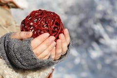 Winter present Stock Photo