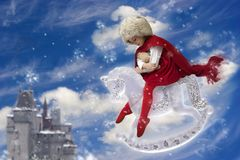 Winter princess Royalty Free Stock Photos