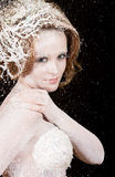 The winter princess Royalty Free Stock Images