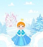 Winter Princess Stock Images