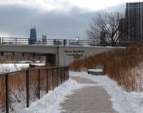 Winter-Promenade Stockbilder