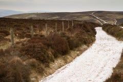 Winter at Quantock Hills Somerset England Stock Photo