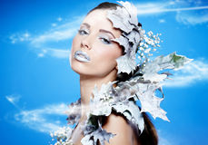 Winter Queen Royalty Free Stock Image