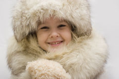 Winter queen stock image