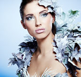 Winter Queen Royalty Free Stock Photography