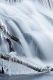 Winter, Rabbit River Cascade Stock Photos