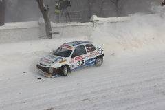 Winter race. In Moscow , Race of stars 2011 Stock Photography