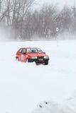 Winter racing Stock Image
