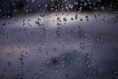Winter Rain Royalty Free Stock Photo