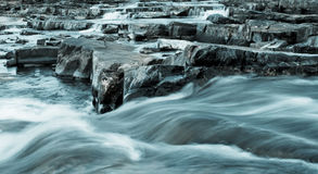 Winter rapids royalty free stock photos