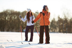 Winter recreation Stock Photography
