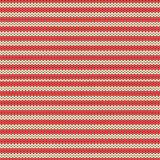Winter red and beige striped Scandinavian traditional knitted seamless pattern. Background for Christmas and New Year Stock Images