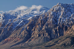 Winter, Red Rock Canyon Royalty Free Stock Photography