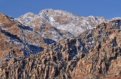 Winter, Red Rock Canyon Stock Image