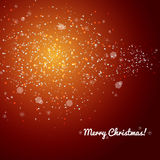 Winter red xmas  background Royalty Free Stock Photos