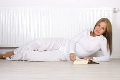 Winter relax Stock Image