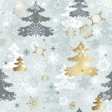 Winter repeating pattern Royalty Free Stock Photography