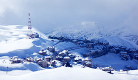 Winter resort Royalty Free Stock Images
