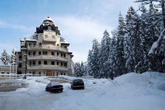 Winter resort Stock Photography