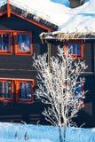 Winter resort Royalty Free Stock Images
