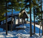 Winter resort Royalty Free Stock Photos